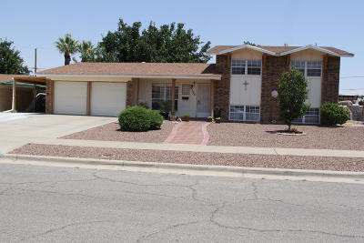 El Paso Single Family Home For Sale: 9105 Shaver Drive