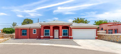 El Paso Single Family Home For Sale: 558 River Valley Street