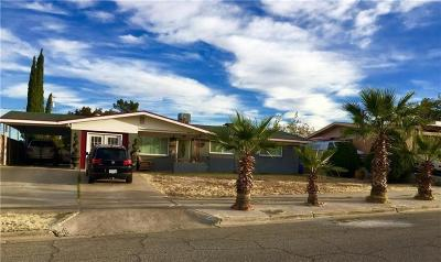 El Paso Single Family Home For Sale: 7811 Basswood Avenue