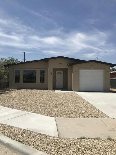 El Paso Single Family Home For Sale: 9312 Ramirez Circle Court