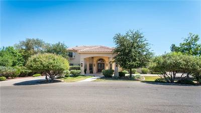 El Paso Single Family Home For Sale: 5500 Emerald View Drive