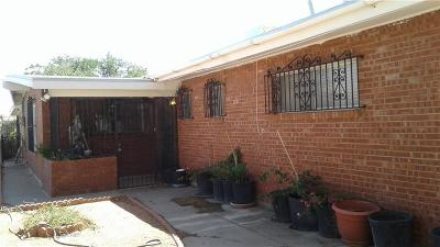 El Paso Single Family Home For Sale: 3340 Fillmore