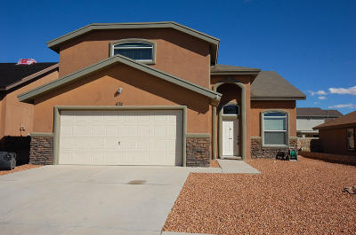 Horizon City Single Family Home For Sale: 474 Coldridge Valley