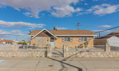 El Paso Single Family Home For Sale: 10280 Yellowstone Street