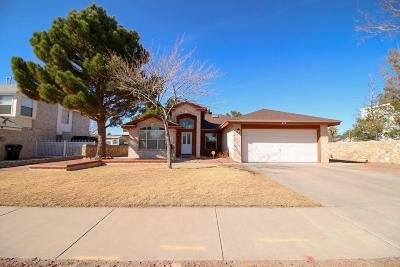 Horizon City Single Family Home For Sale: 315 Roslyn Drive
