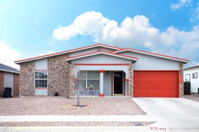 Horizon City Single Family Home For Sale: 624 Manzanilla Place
