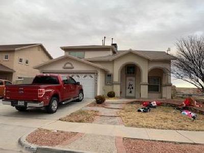 Horizon City Single Family Home For Sale: 600 Paseo Mision Street
