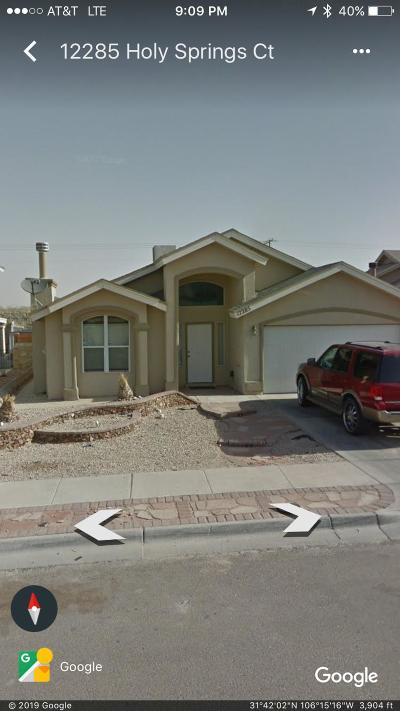 Horizon City Rental For Rent: 12285 Holy Springs Court
