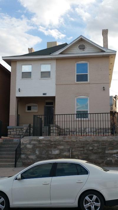 El Paso Multi Family Home For Sale: 1119 N El Paso Street
