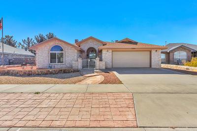Horizon City Single Family Home For Sale: 13904 Jeweled Desert Drive