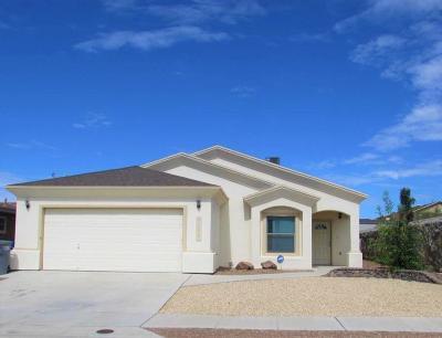 Horizon City Single Family Home For Sale: 13961 Flora Vista Avenue
