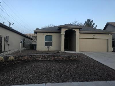 El Paso Rental For Rent: 7786 Oak Landing Drive