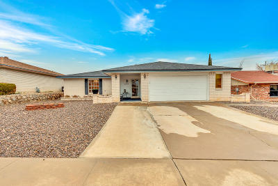 El Paso Single Family Home For Sale: 4521 Cupid Drive