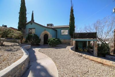 El Paso Single Family Home For Sale: 2905 Piedmont Drive