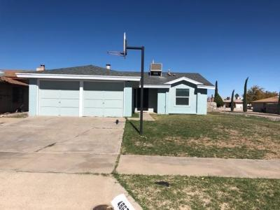 El Paso TX Single Family Home For Sale: $124,998
