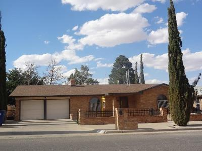El Paso Single Family Home For Sale: 4621 Rutherford