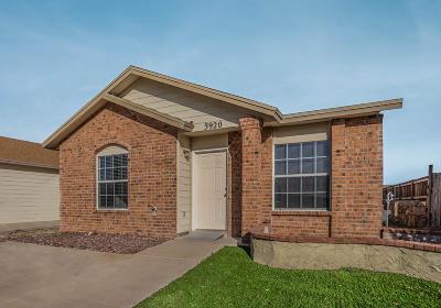 Single Family Home For Sale: 3920 Tierra Alamo Drive