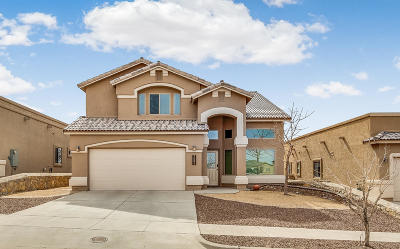 El Paso Single Family Home For Sale: 7604 Dawnlight Lane