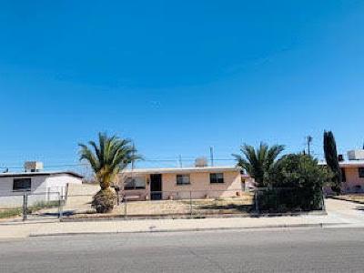 El Paso Single Family Home For Sale: 1068 Ralpheene Street