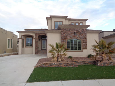 El Paso Single Family Home For Sale: 3140 Red Maple Drive