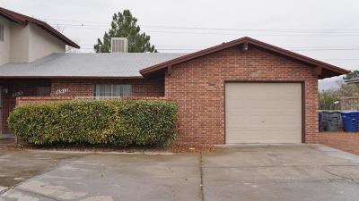 El Paso Single Family Home For Sale: 6914 Escondido Drive