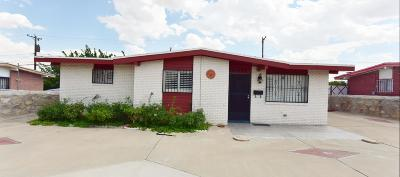 El Paso Single Family Home For Sale: 5008 Tropicana Avenue