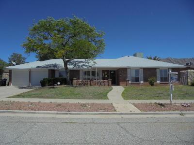 El Paso Single Family Home For Sale: 6441 Dawn Drive