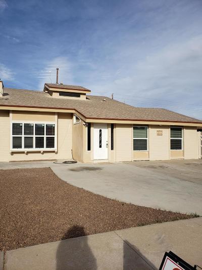 El Paso Single Family Home For Sale: 4613 George Patton Lane