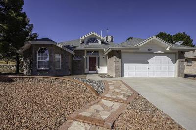 Horizon City Single Family Home For Sale: 409 Jeweled Desert Drive