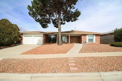 El Paso Single Family Home For Sale: 6605 Mesa Grande Avenue