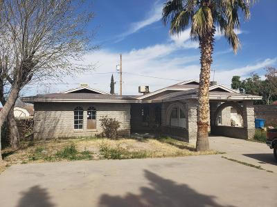 Socorro Single Family Home For Sale: 653 Delilah Avenue