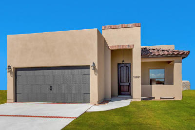 El Paso Single Family Home For Sale: 10076 Hueco Junction Road