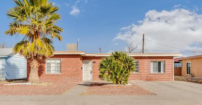 El Paso TX Single Family Home For Sale: $89,950