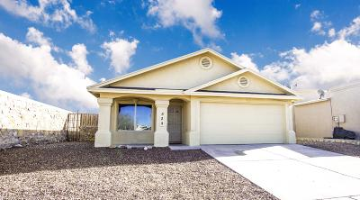 Horizon City Single Family Home For Sale: 320 Jim Knowles Place Place