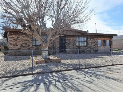 El Paso TX Single Family Home For Sale: $93,000