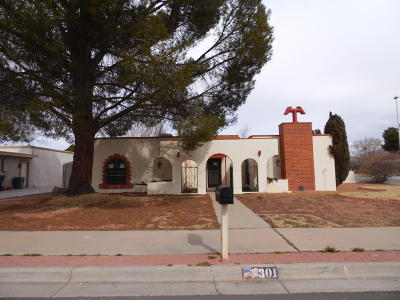 El Paso TX Single Family Home For Sale: $130,500