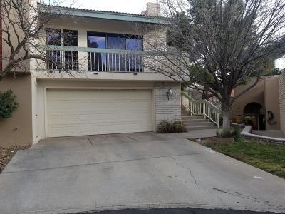 El Paso TX Condo/Townhouse For Sale: $189,950