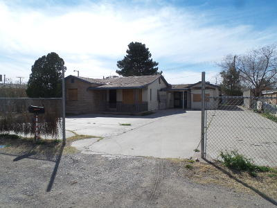 El Paso Single Family Home For Sale: 366 McCune Road
