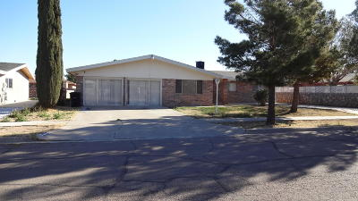 Horizon City Single Family Home For Sale: 14861 Kingston Road