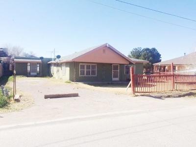 El Paso Single Family Home For Sale: 8524 Wingo Way