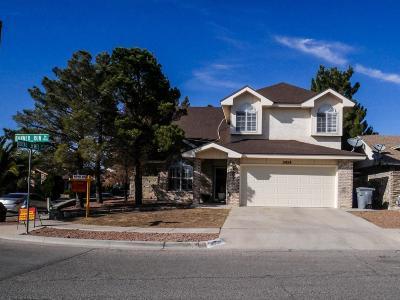 El Paso TX Single Family Home For Sale: $146,000