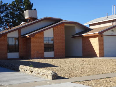 El Paso Rental For Rent: 11866 Scott Simpson Drive