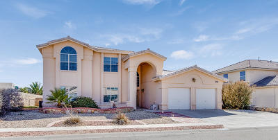 El Paso Single Family Home For Sale: 12648 Tierra Gema Court