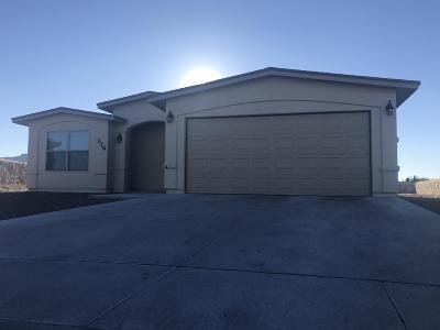 Anthony Single Family Home For Sale: 608 Margarita Street