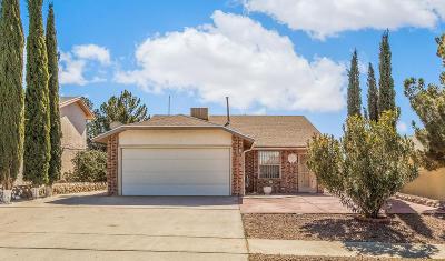 El Paso Single Family Home For Sale: 216 Thorn Ridge Circle