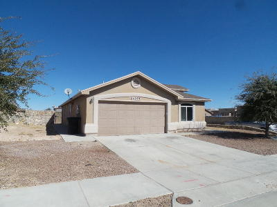 Horizon City Single Family Home For Sale: 14299 Desert Point Drive