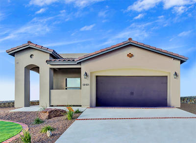 El Paso Single Family Home For Sale: 13676 Samlesbury Avenue