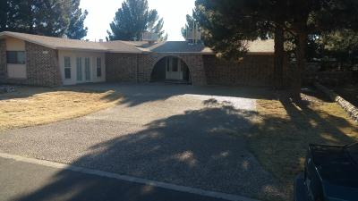 El Paso Single Family Home For Sale: 5665 Costa Blanca Place