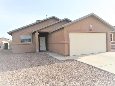 Horizon City Single Family Home For Sale: 13212 Emerald Creek Drive