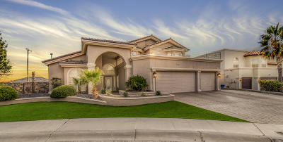 El Paso Single Family Home For Sale: 1356 Gate Place